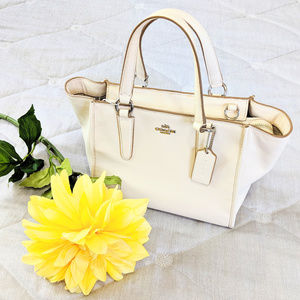 COACH Small Purse Ivory white